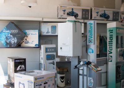 Quelques exemples de produits pour votre système de chauffage disponibles dans notre magasin de Baillargues