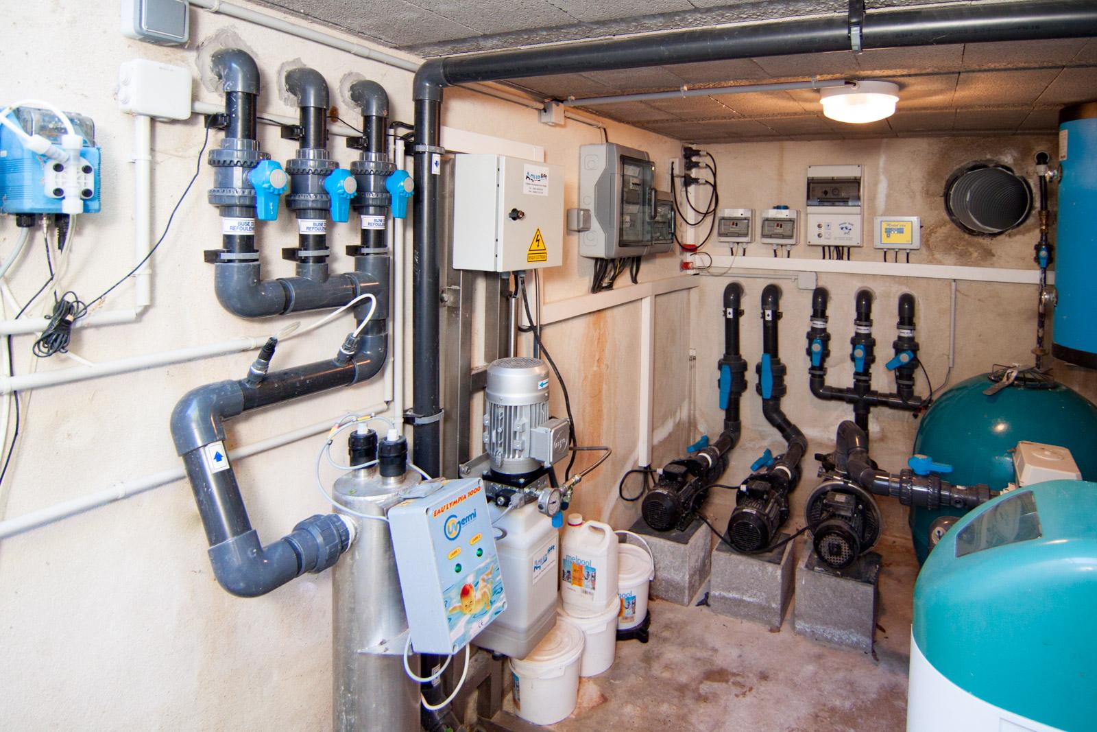 Système de filtration par UV
